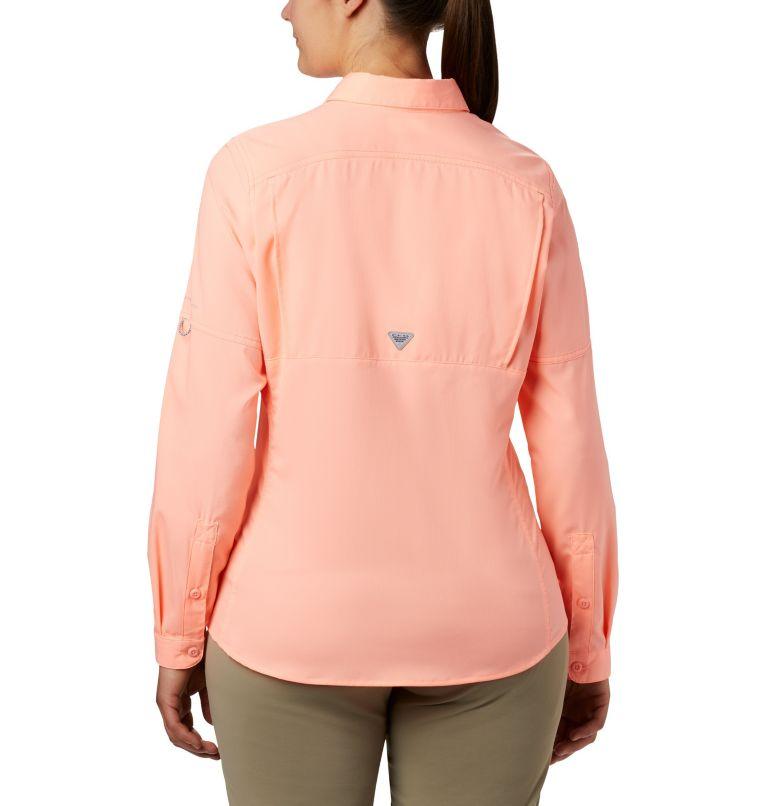 Lo Drag™ Long Sleeve Shirt | 884 | XS Women's PFG Lo Drag™ Long Sleeve Shirt, Tiki Pink, back
