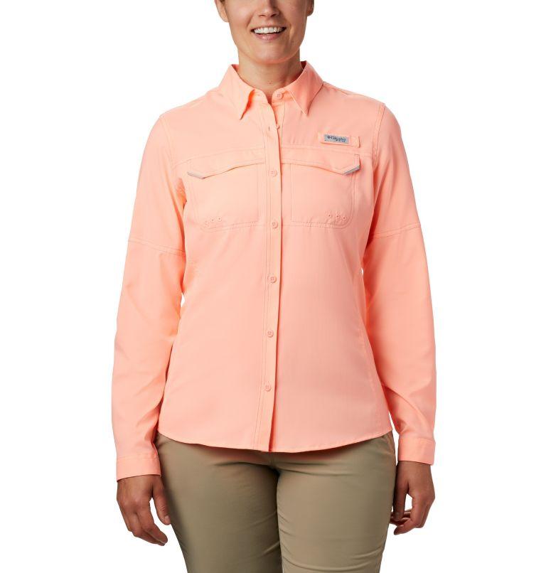 Lo Drag™ Long Sleeve Shirt | 884 | XS Women's PFG Lo Drag™ Long Sleeve Shirt, Tiki Pink, front
