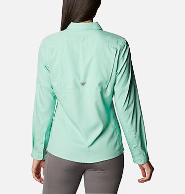 Women's PFG Lo Drag™ Long Sleeve Shirt Lo Drag™ Long Sleeve Shirt | 917 | L, Kelp, back