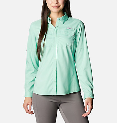 Women's PFG Lo Drag™ Long Sleeve Shirt Lo Drag™ Long Sleeve Shirt | 917 | L, Kelp, front