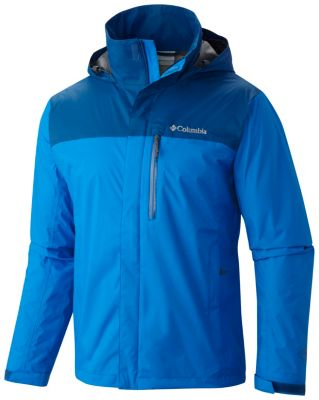 Men's Pouration Waterproof Breathable Hooded Jacket | Columbia.com