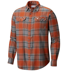 Men's Flare Gun™ Flannel Long Sleeve Shirt - Texas