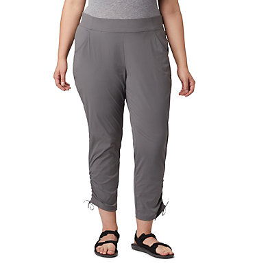Pantalon longueur cheville Anytime Casual™ pour femme - Grandes tailles Anytime Casual™ Ankle Pant | 023 | 1X, City Grey, front