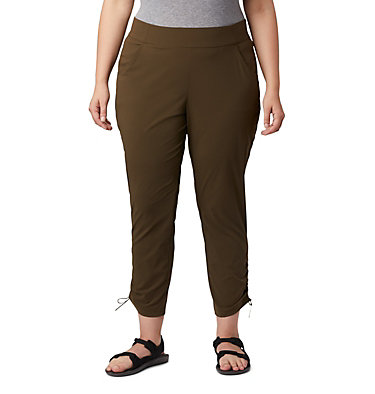 Pantalon longueur cheville Anytime Casual™ pour femme - Grandes tailles Anytime Casual™ Ankle Pant | 023 | 1X, Olive Green, front