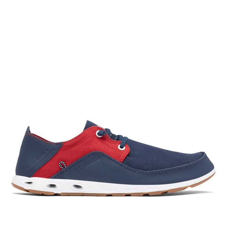 BAHAMA™ VENT RELAXED PFG | 471 | 12 Men's Bahama™ Vent Relaxed PFG Shoe, Collegiate Navy, Rocket, front