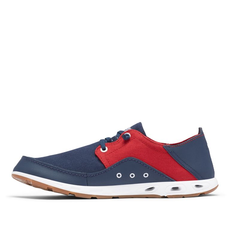 BAHAMA™ VENT RELAXED PFG | 471 | 11 Men's Bahama™ Vent Relaxed PFG Shoe, Collegiate Navy, Rocket, medial