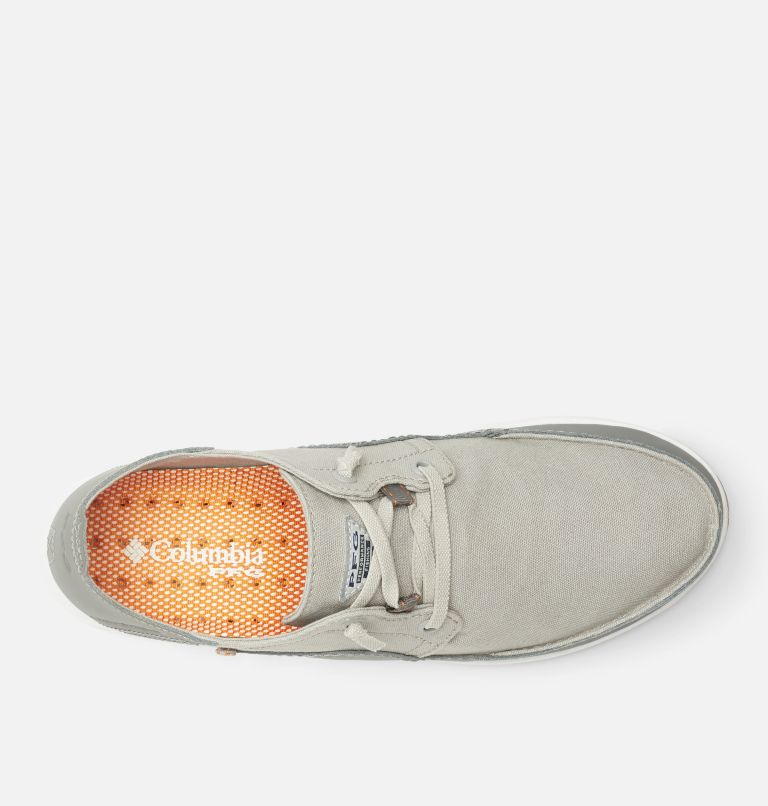 BAHAMA™ VENT PFG LACE RELAXED WIDE | 091 | 7 Men's Bahama™ Vent Relaxed PFG Shoe - Wide, Steam, Light Orange, top