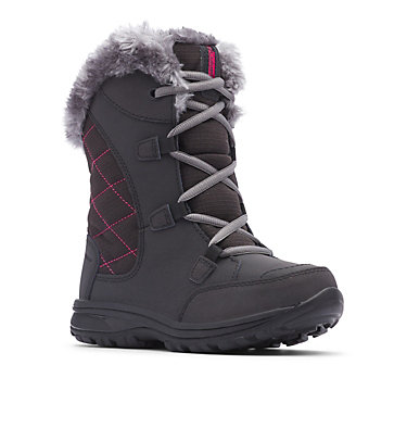 Big Kids' Ice Maiden™ Lace II Boot YOUTH ICE MAIDEN™ LACE II | 011 | 1, Black, 3/4 front