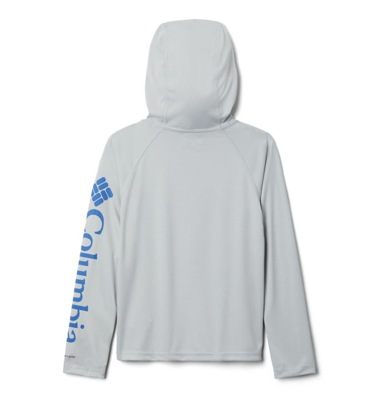 Terminal Tackle™ Hoodie | 019 | XXS Kids' PFG Terminal Tackle™ Hoodie, Cool Grey, back