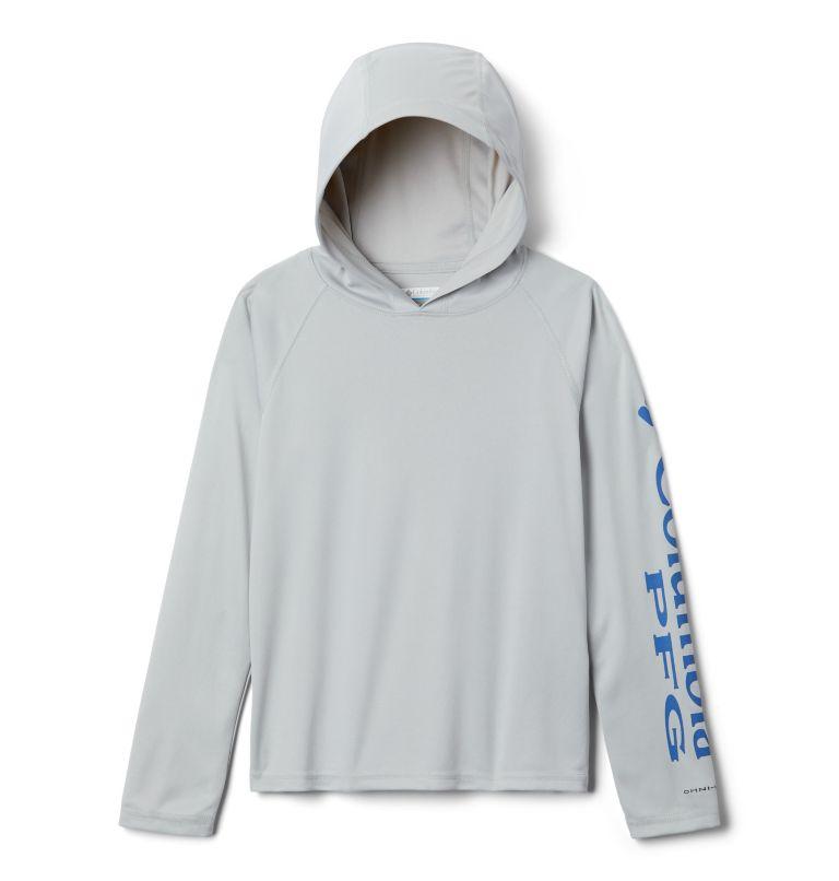 Terminal Tackle™ Hoodie | 019 | XL Kids' PFG Terminal Tackle™ Hoodie, Cool Grey, front
