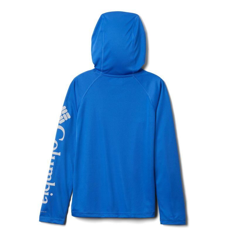 Terminal Tackle™ Hoodie | 488 | L Kids' PFG Terminal Tackle™ Hoodie, Vivid Blue, back