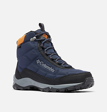 Men's Firecamp™ Boot FIRECAMP™ BOOT | 464 | 10, Collegiate Navy, Bright Copper, 3/4 front