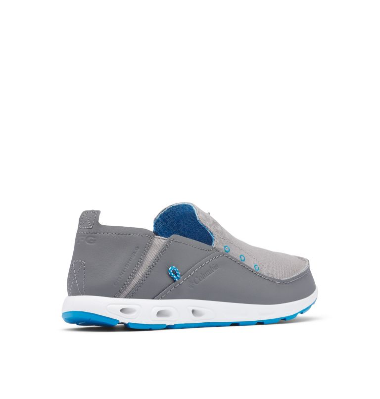 BAHAMA™ VENT PFG WIDE | 029 | 8 Men's PFG Bahama™ Vent Shoe - Wide, Ti Titanium, Pool, 3/4 back