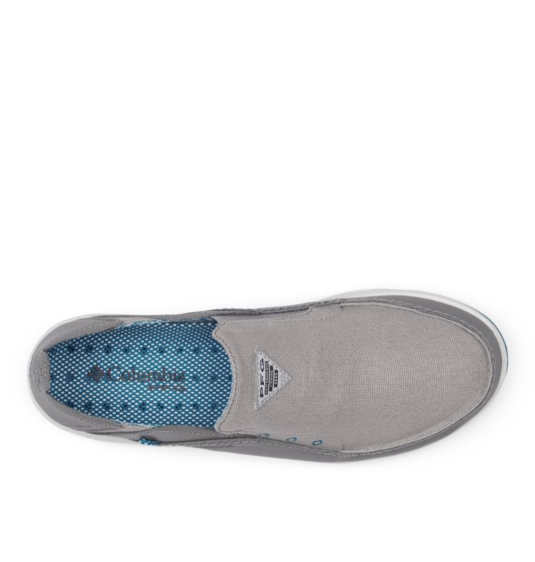 BAHAMA™ VENT PFG WIDE | 029 | 8 Men's PFG Bahama™ Vent Shoe - Wide, Ti Titanium, Pool, top