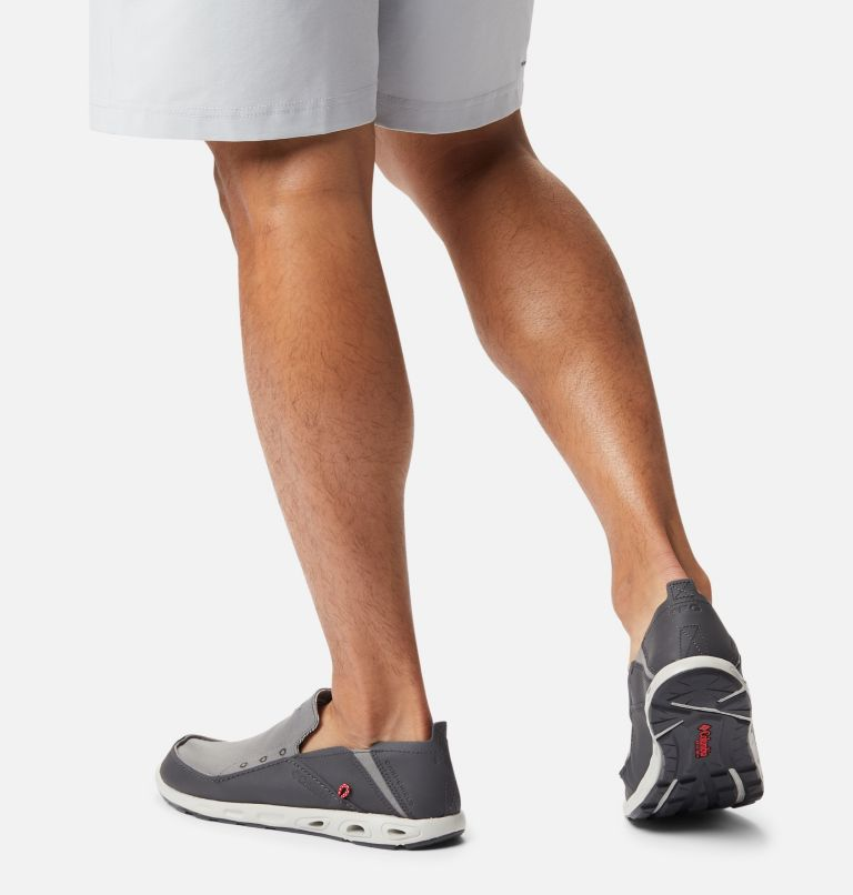BAHAMA™ VENT PFG WIDE   049   16 Men's PFG Bahama™ Vent Shoe - Wide, Titanium MHW, Bright Red, a9