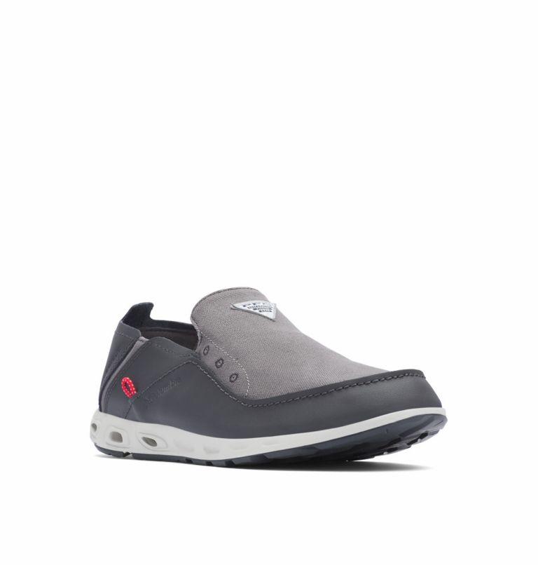 BAHAMA™ VENT PFG WIDE | 049 | 11.5 Men's PFG Bahama™ Vent Shoe - Wide, Titanium MHW, Bright Red, 3/4 front