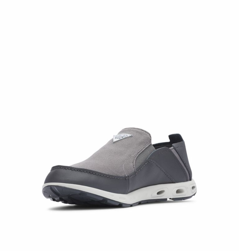 BAHAMA™ VENT PFG WIDE | 049 | 11.5 Men's PFG Bahama™ Vent Shoe - Wide, Titanium MHW, Bright Red