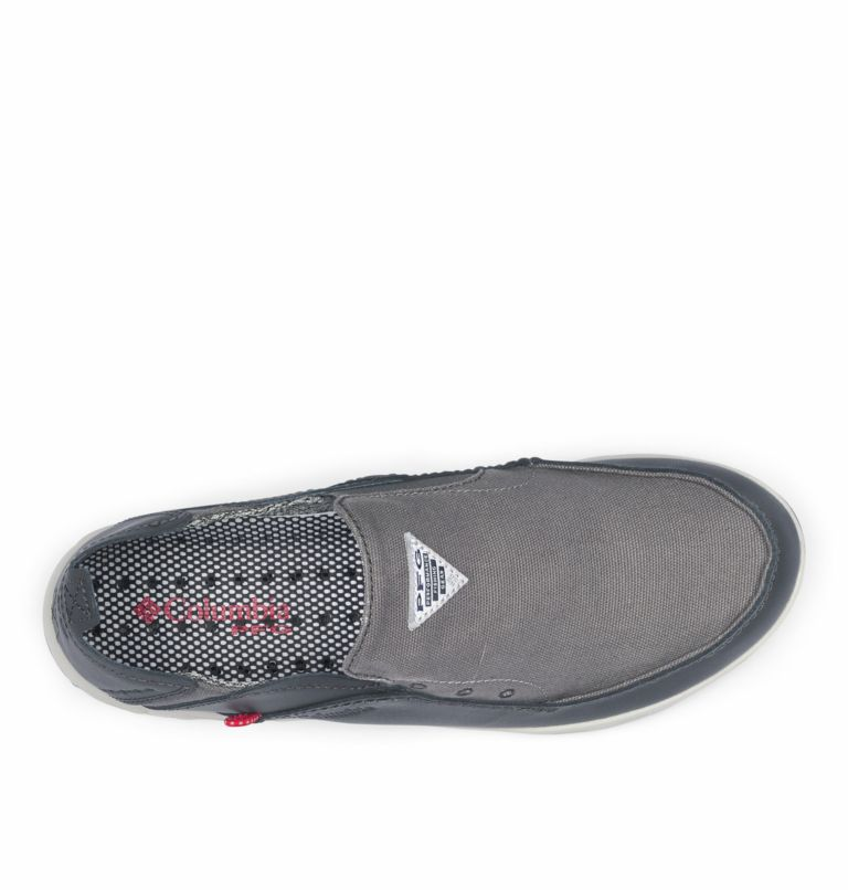 BAHAMA™ VENT PFG WIDE   049   16 Men's PFG Bahama™ Vent Shoe - Wide, Titanium MHW, Bright Red, top