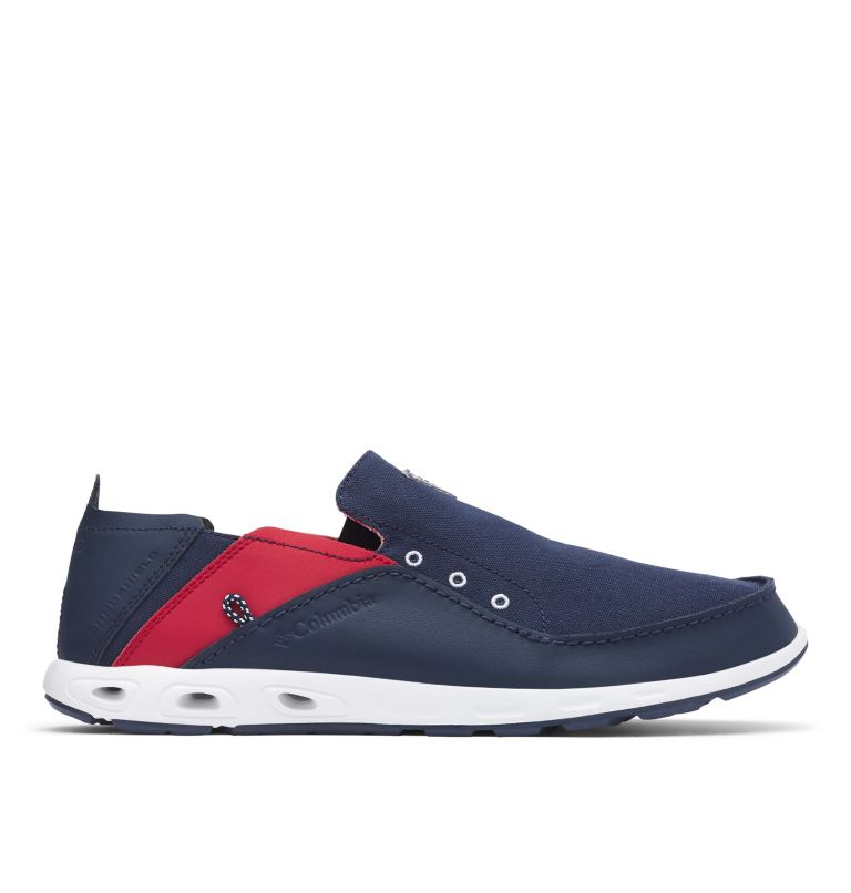 BAHAMA™ VENT PFG WIDE | 468 | 12 Men's PFG Bahama™ Vent Shoe - Wide, Collegiate Navy, Rocket, front