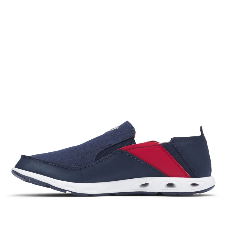 BAHAMA™ VENT PFG WIDE | 468 | 12 Men's PFG Bahama™ Vent Shoe - Wide, Collegiate Navy, Rocket, medial