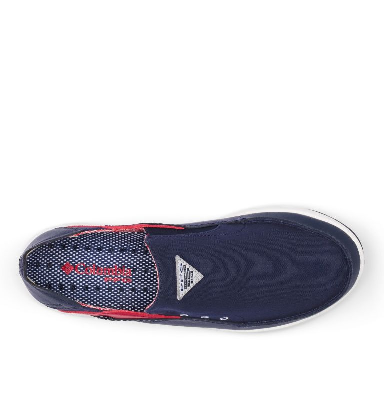 BAHAMA™ VENT PFG WIDE | 468 | 12 Men's PFG Bahama™ Vent Shoe - Wide, Collegiate Navy, Rocket, top
