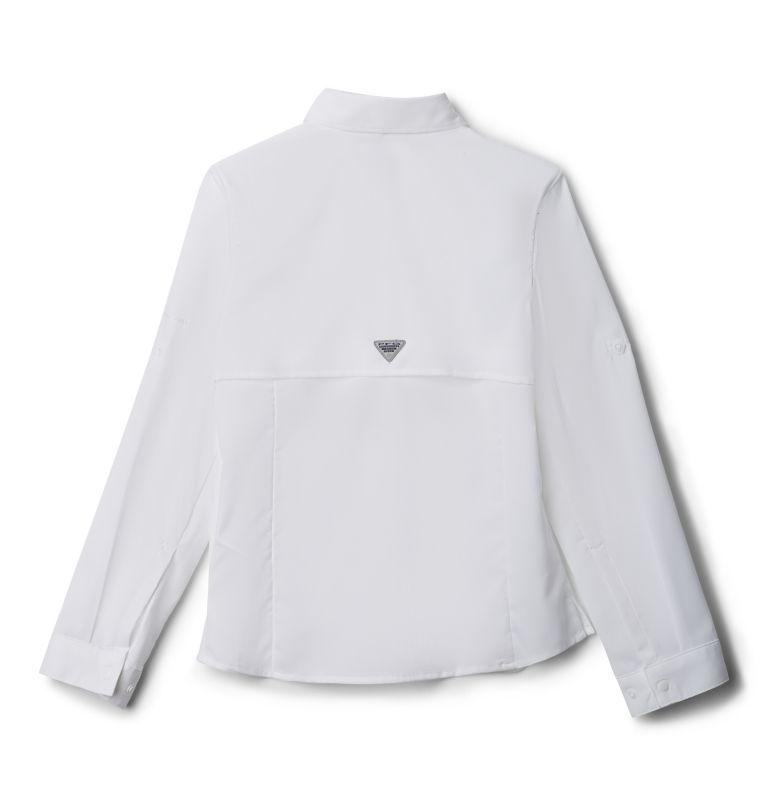 Tamiami™ Long Sleeve Shirt | 100 | XS Girls' PFG Tamiami™ Long Sleeve Shirt, White, back
