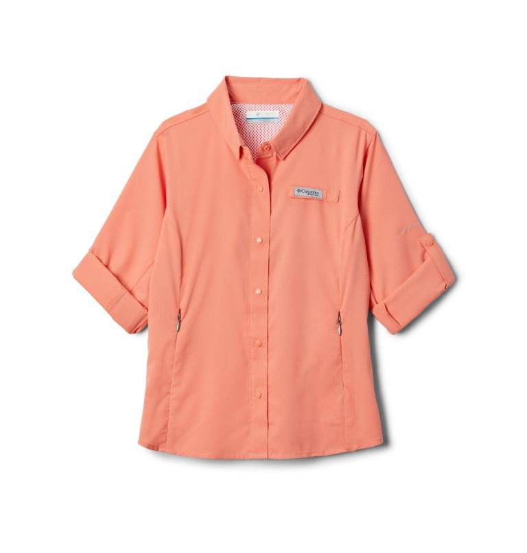 Girls' PFG Tamiami™ Long Sleeve Shirt Girls' PFG Tamiami™ Long Sleeve Shirt, a1