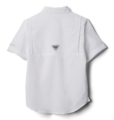 Boys' PFG Tamiami™ Short Sleeve Shirt Tamiami™ Short Sleeve Shirt | 489 | XL, White, back