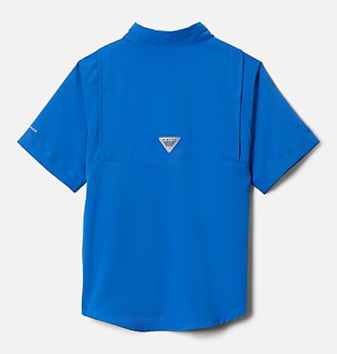 Boys' PFG Tamiami™ Short Sleeve Shirt Tamiami™ Short Sleeve Shirt | 489 | XL, Vivid Blue, back