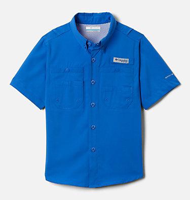 Boys' PFG Tamiami™ Short Sleeve Shirt Tamiami™ Short Sleeve Shirt | 489 | XL, Vivid Blue, front