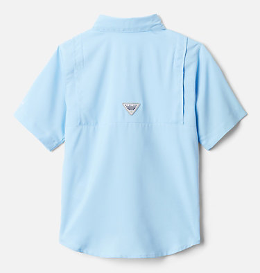 Boys' PFG Tamiami™ Short Sleeve Shirt Tamiami™ Short Sleeve Shirt | 489 | XL, Sail, back
