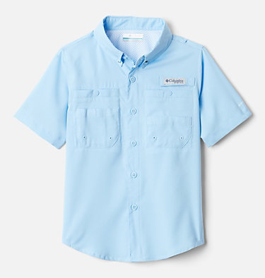 Boys' PFG Tamiami™ Short Sleeve Shirt Tamiami™ Short Sleeve Shirt | 489 | XL, Sail, front