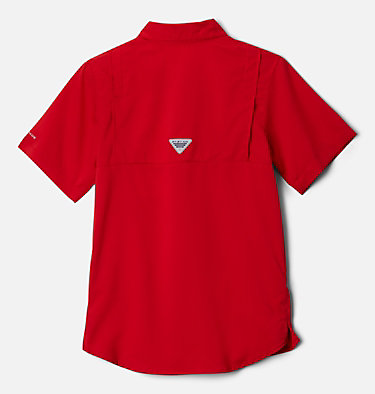 Boys' PFG Tamiami™ Short Sleeve Shirt Tamiami™ Short Sleeve Shirt | 489 | XL, Red Spark, back