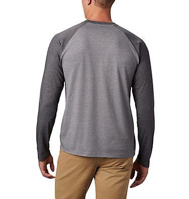 Men's Thistletown Park™ Raglan Shirt Thistletown Park™ Raglan Tee | 024 | L, City Grey Heather, Shark Heather, back