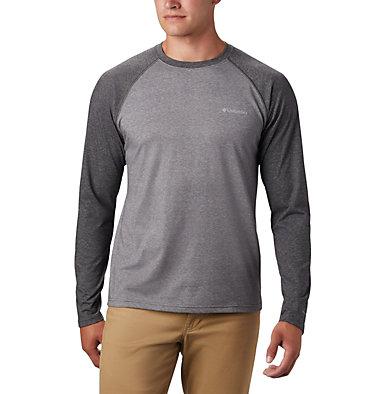 Men's Thistletown Park™ Raglan Shirt Thistletown Park™ Raglan Tee | 024 | L, City Grey Heather, Shark Heather, front