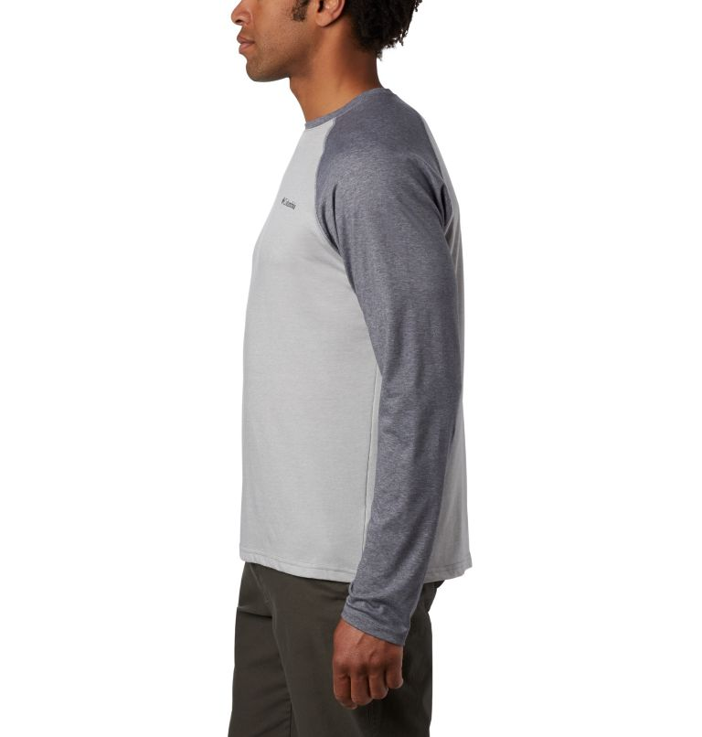 Thistletown Park™ Raglan Tee   039   XXL Men's Thistletown Park™ Raglan Shirt, Columbia Grey Heather, City Grey Heather, a1