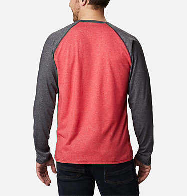 Men's Thistletown Park™ Raglan Shirt Thistletown Park™ Raglan Tee | 024 | L, Mountain Red Heather, Black Heather, back