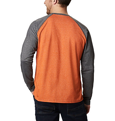 Men's Thistletown Park™ Raglan Shirt Thistletown Park™ Raglan Tee | 024 | L, Harvester Heather, Shark Heather, back