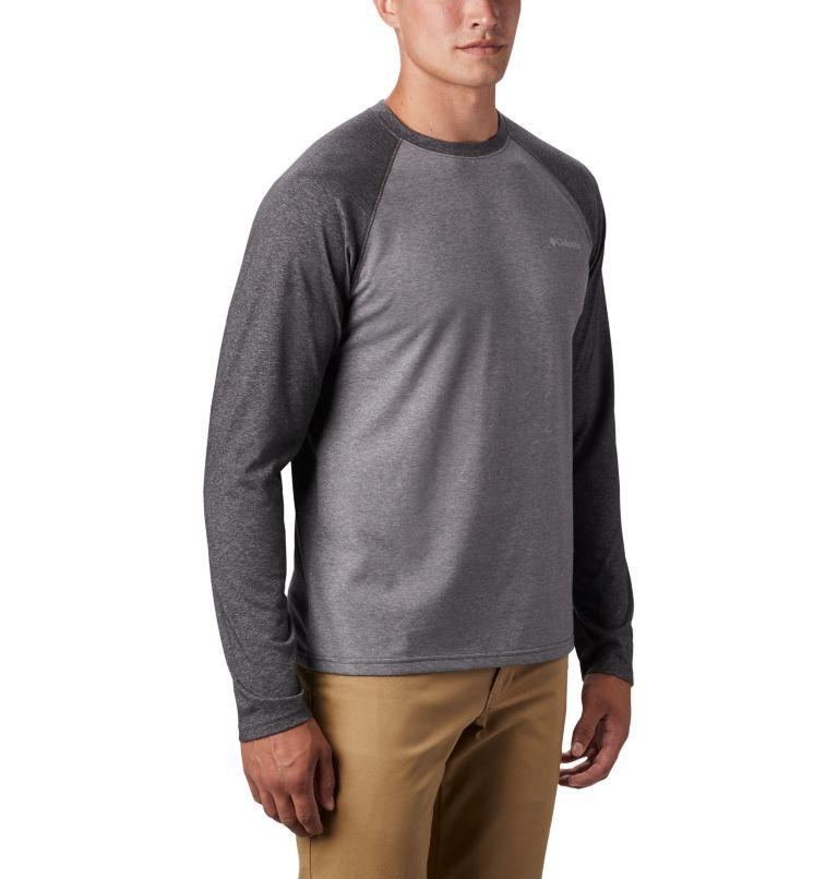 Thistletown Park™ Raglan Tee | 024 | 3X Men's Thistletown Park™ Raglan Shirt - Big, City Grey Heather, Shark Heather, a3