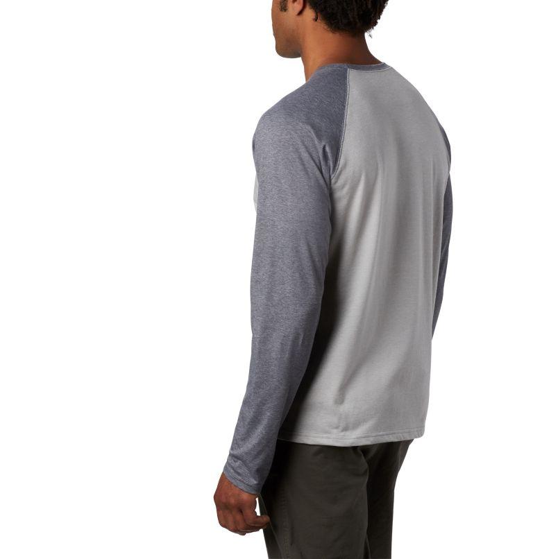 Thistletown Park™ Raglan Tee | 039 | 2X Men's Thistletown Park™ Raglan Shirt - Big, Columbia Grey Heather, City Grey Heather, a2
