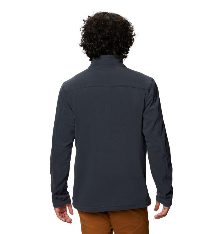 Microchill™ 2.0 Zip T   004   XL Men's Microchill™ 2.0 Zip T-Shirt, Dark Storm, back