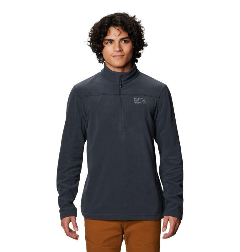 Microchill™ 2.0 Zip T   004   XL Men's Microchill™ 2.0 Zip T-Shirt, Dark Storm, front