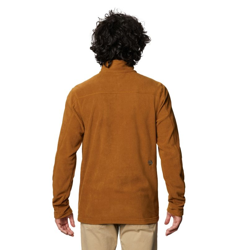 Microchill™ 2.0 Zip T | 233 | S Men's Microchill™ Pullover, Golden Brown, back