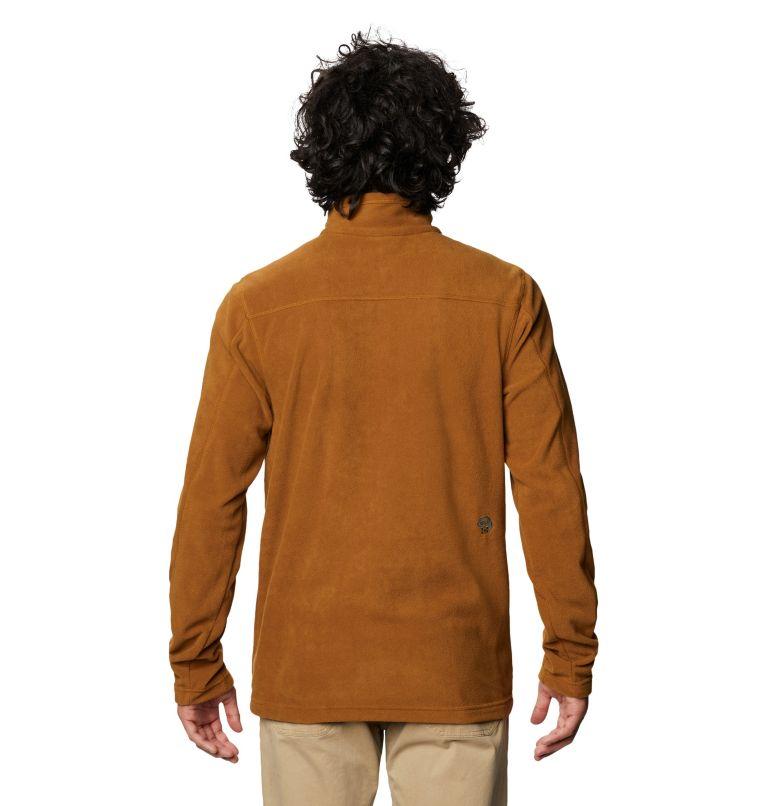 Microchill™ 2.0 Zip T | 233 | XL Men's Microchill™ 2.0 Zip T-Shirt, Golden Brown, back
