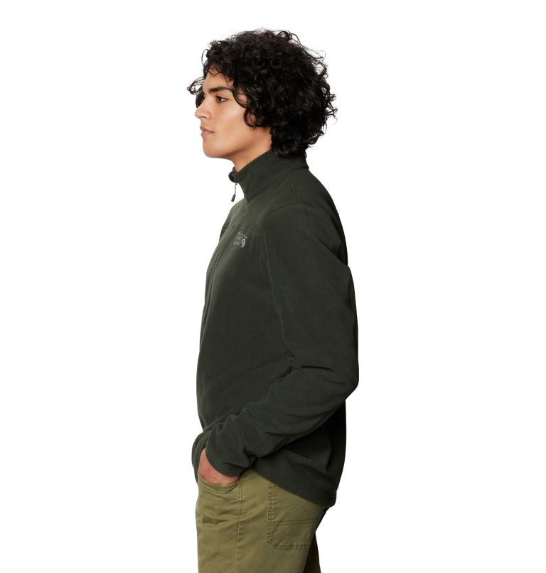Microchill™ 2.0 Zip T | 306 | S Men's Microchill™ Pullover, Black Sage, a1