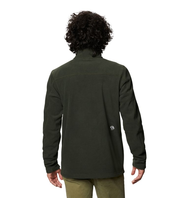 Microchill™ 2.0 Zip T | 306 | M Men's Microchill™ 2.0 Zip T, Black Sage, back