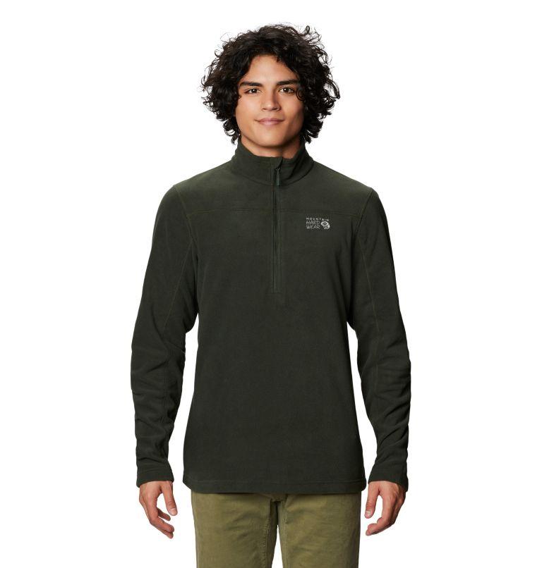 Microchill™ 2.0 Zip T | 306 | L Men's Microchill™ Pullover, Black Sage, front