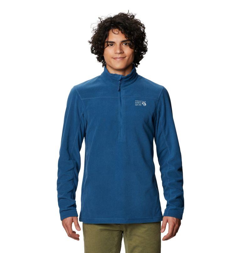 Microchill™ 2.0 Zip T   402   XL Men's Microchill™ Pullover, Blue Horizon, front