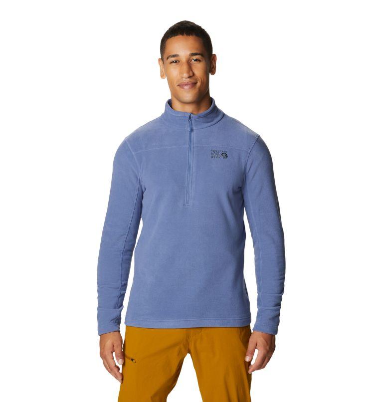 Microchill™ 2.0 Zip T   445   XL Men's Microchill™ Pullover, Northern Blue, front