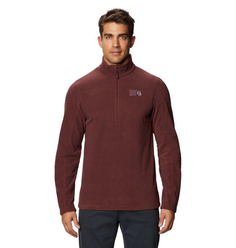 Microchill™ 2.0 Zip T | 629 | M Men's Microchill™ Pullover, Washed Raisin, front